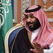 """Kronprinz Mohammed bin Salman sieht sich """"auf dem richtigen Weg"""". Und die Anti-Korruptionskampagne diene nicht zur Festigung seiner Macht."""