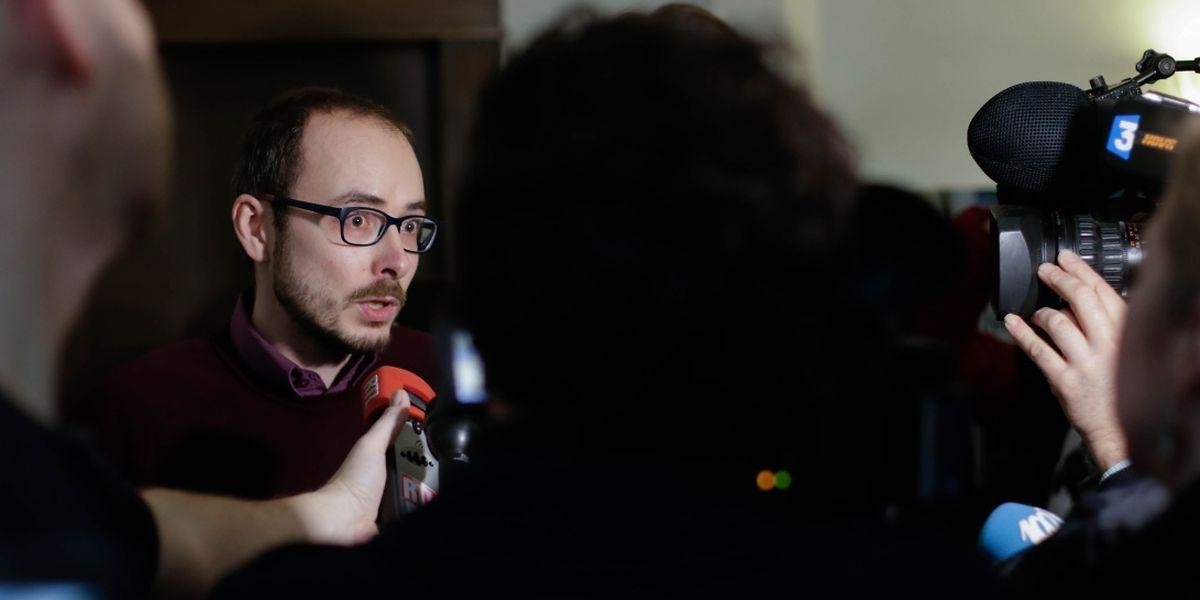 """As revelações do caso Luxleaks, mediatizado por Antoine Deltour, """"estabeleceram um precedente que favorece a liberdade de expressão"""", refere o relatório."""