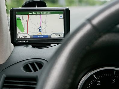 01.06.2009 Navigationsgeraet im Auto, Foto: Serge Waldbillig