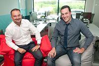 Wilfrid Lagrange, country manager et Jérémy Meisch, operations director, accueilleront en septembre leurs premiers «élèves» en intelligence artificielle.