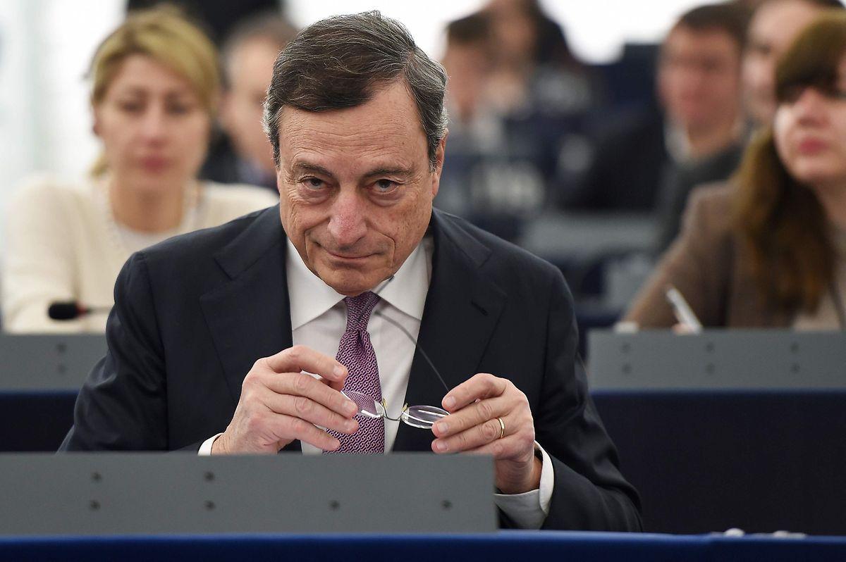 President of the European Central Bank (ECB) Mario Draghi (AFP)