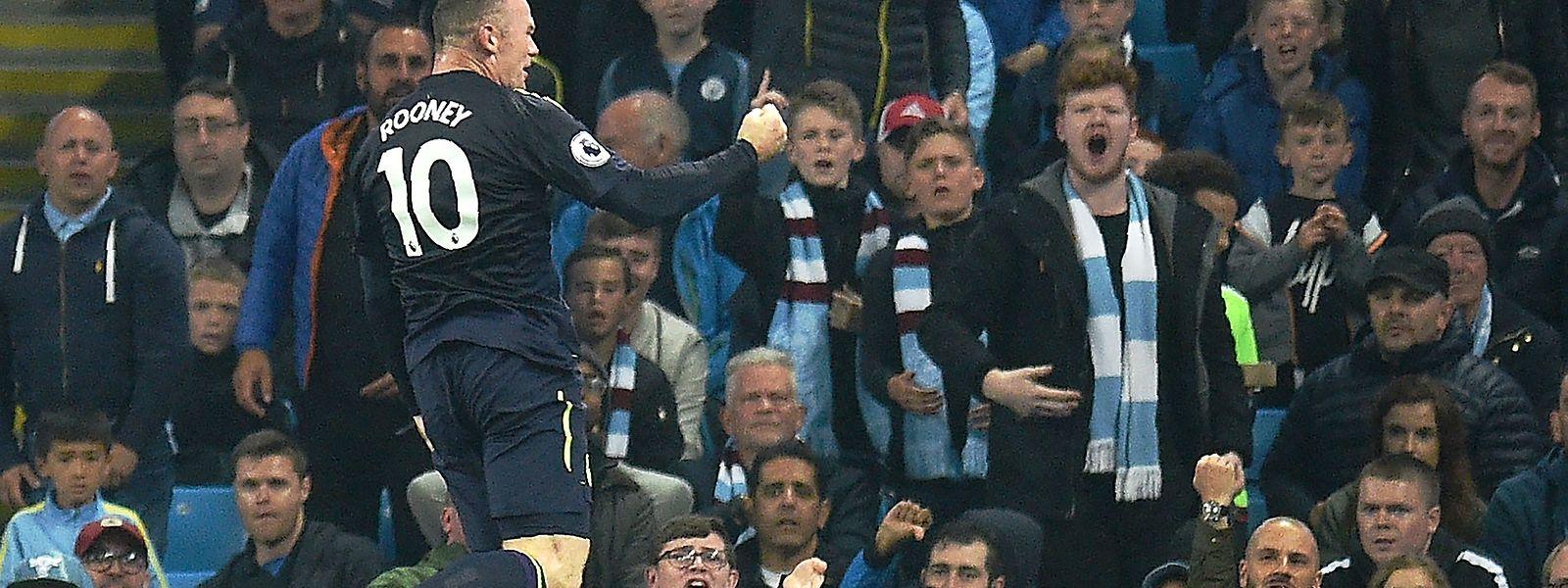 Sie lieben ihn immer noch: Wayne Rooney hat mit dem Wechsel zu seinem Heimatclub Everton wohl alles richtig gemacht.