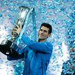 Djokovic tornou-se no primeiro jogador da história a vencer o torneio de final de temporada quatro vezes consecutivas