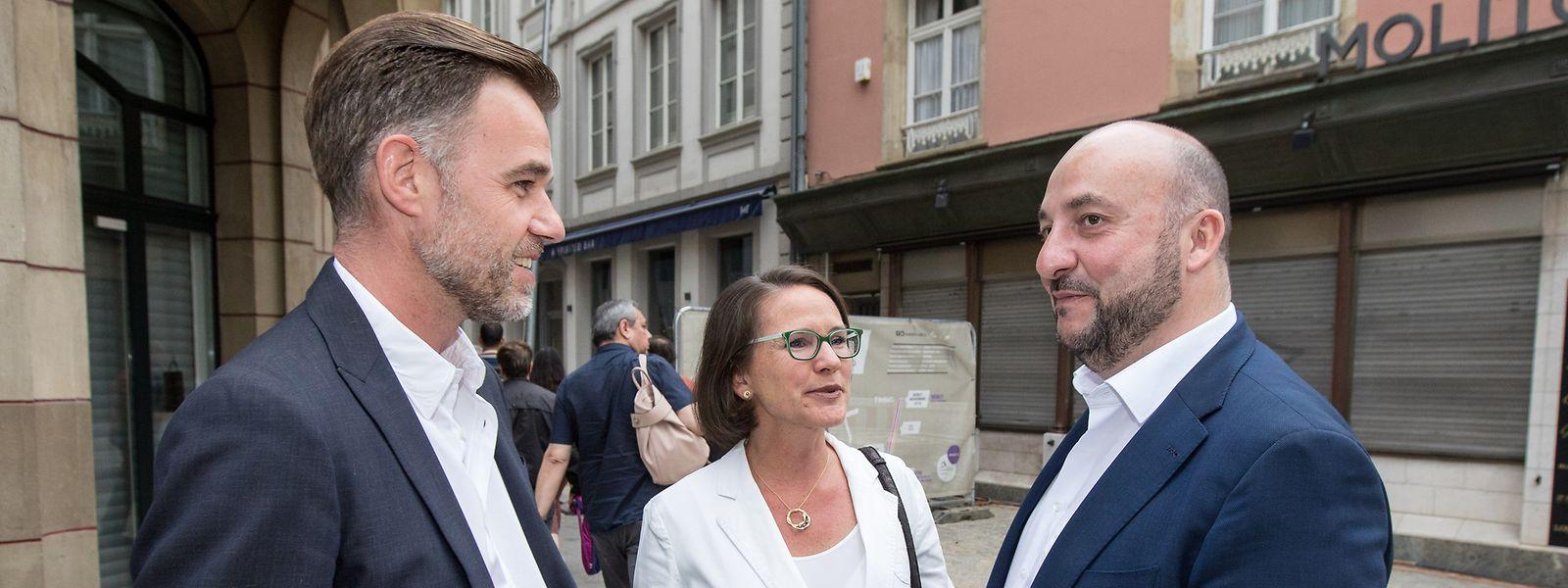 Alors que Franz Fayot cède sa place pour partir à l'Economie, le parti doit encore se trouver un ou une nouvelle patronne, lors de son prochain congrès.