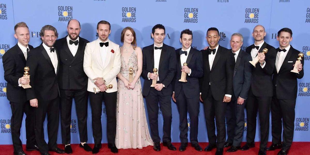 'La La Land' levou para casa 7 Globos de Ouro