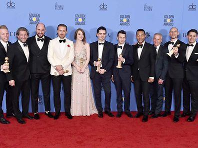 'La La Land' take home no less than seven Golden Globe trophies