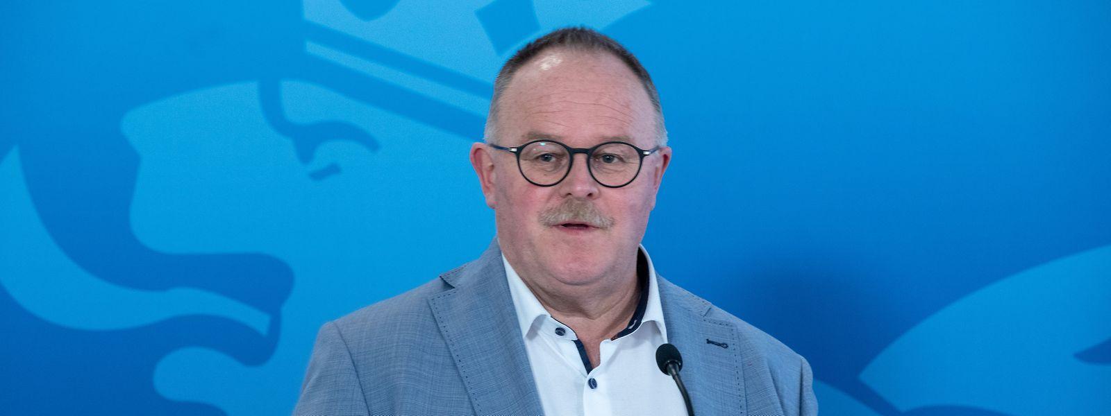 Pour Romain Schneider, ministre de la Sécurité sociale, les conséquences complètes de la pandémie ne seront visibles que dans plusieurs mois.