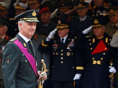Der belgische König Philippe wird Donald Trump am 24. Mai treffen.