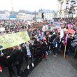 Im März hatten sich viele Schüler und Studenten für eine Demo auf dem Knuedler eingefunden.