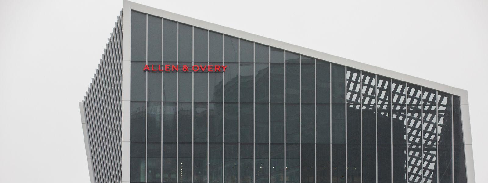 Installé depuis 1990 au Luxembourg, le cabinet Allen & Overy occupe aujourd'hui les bureaux du complexe Infinity au Kirchberg