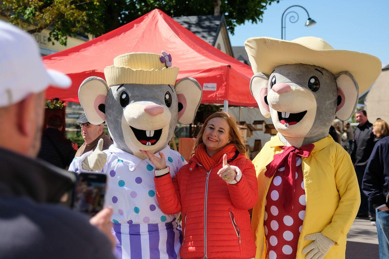 Maus Ketti und ihre feine Kusine Mim waren die Stars des Nachmittags.