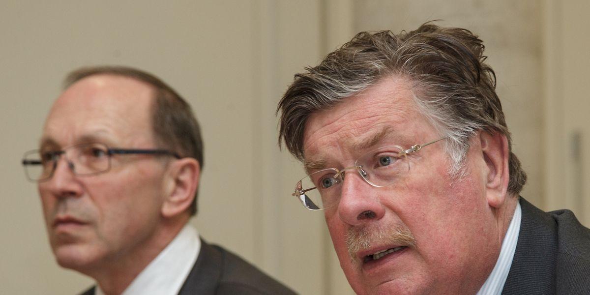 Der CEO Robert Scharfe und der Verwaltungsratpräsident Frank Wagener blicken auf ein erfolgreiches Jahr 2015 zurück.