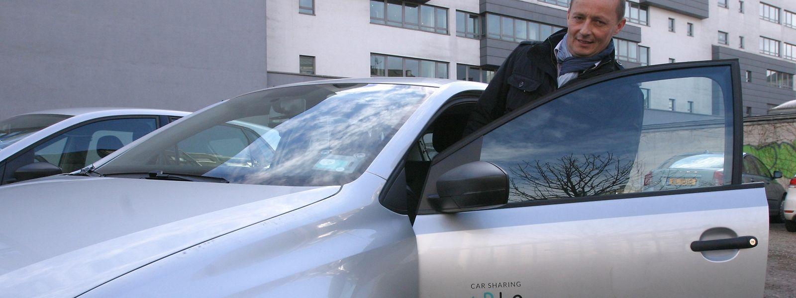 En moyenne, un client de Carloh couvre 44 km et dépense 81 euros par mois pour disposer d'une voiture quand il le souhaite.