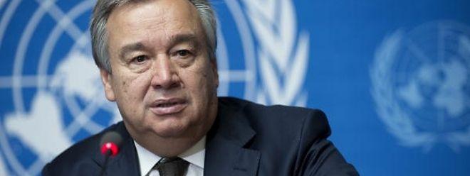 A visita, a convite de Pequim, é a primeira de Guterres ao gigante asiático, desde que foi nomeado secretário-geral da ONU por aclamação, no mês passado.