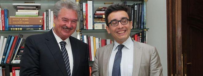 Jean Asselborn e Bruno Maçães estiveram ontem reunidos no Grão-Ducado para preparar a presidência luxemburguesa da União Europeia