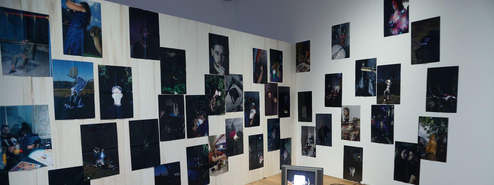 Die Installation von Bruno Oliveira ist Teil der Triennale.