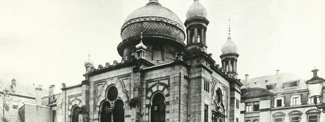 Lange Zeit stand in der Rue Notre-Dame die Luxemburger Synagoge. Sie wurde während der deutschen Besatzung zerstört.