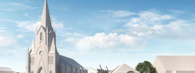 So soll das Zentrum von Rodange künftig aussehen.