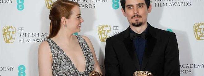 Emma Stone e Damien Chazelle