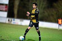 Yannick Bastos (Niederkorn 9) / Fussball, Nationaldivision, Niederkorn - Mondorf / 03.03.2021 / Niederkorn / Foto: Christian Kemp