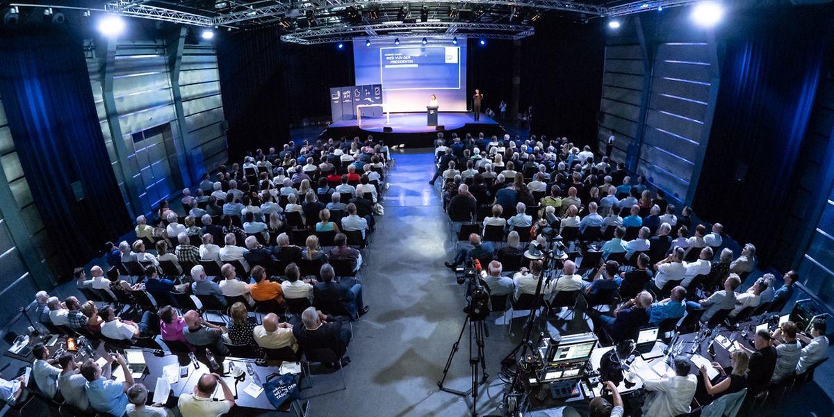 Die DP stellte am Sonntag bei ihrem Parteitag im Tramsschapp die Eckwerte ihres Wahlprogramms vor.