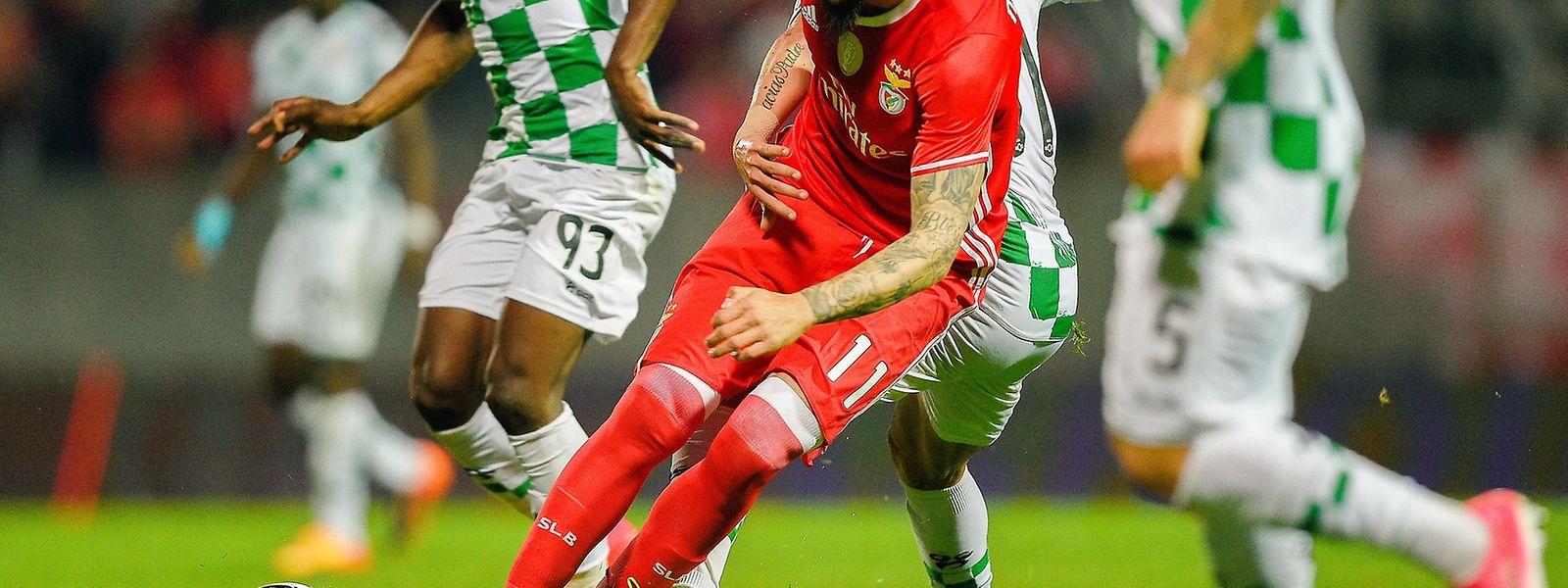 Kostas Mitroglou marcou o golo do triufo encarnado