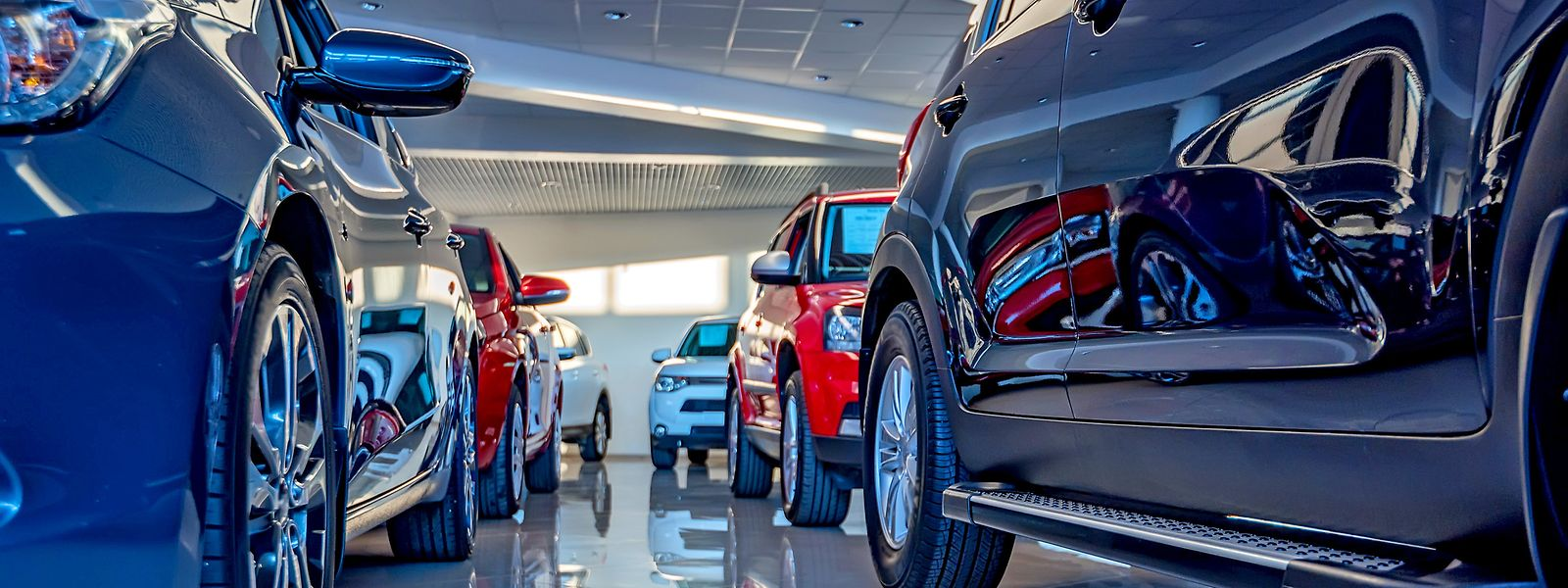 Bei den Luxemburger Autohändlern warten unzählige Fahrzeuge auf ihre Übergabe an die Kunden.