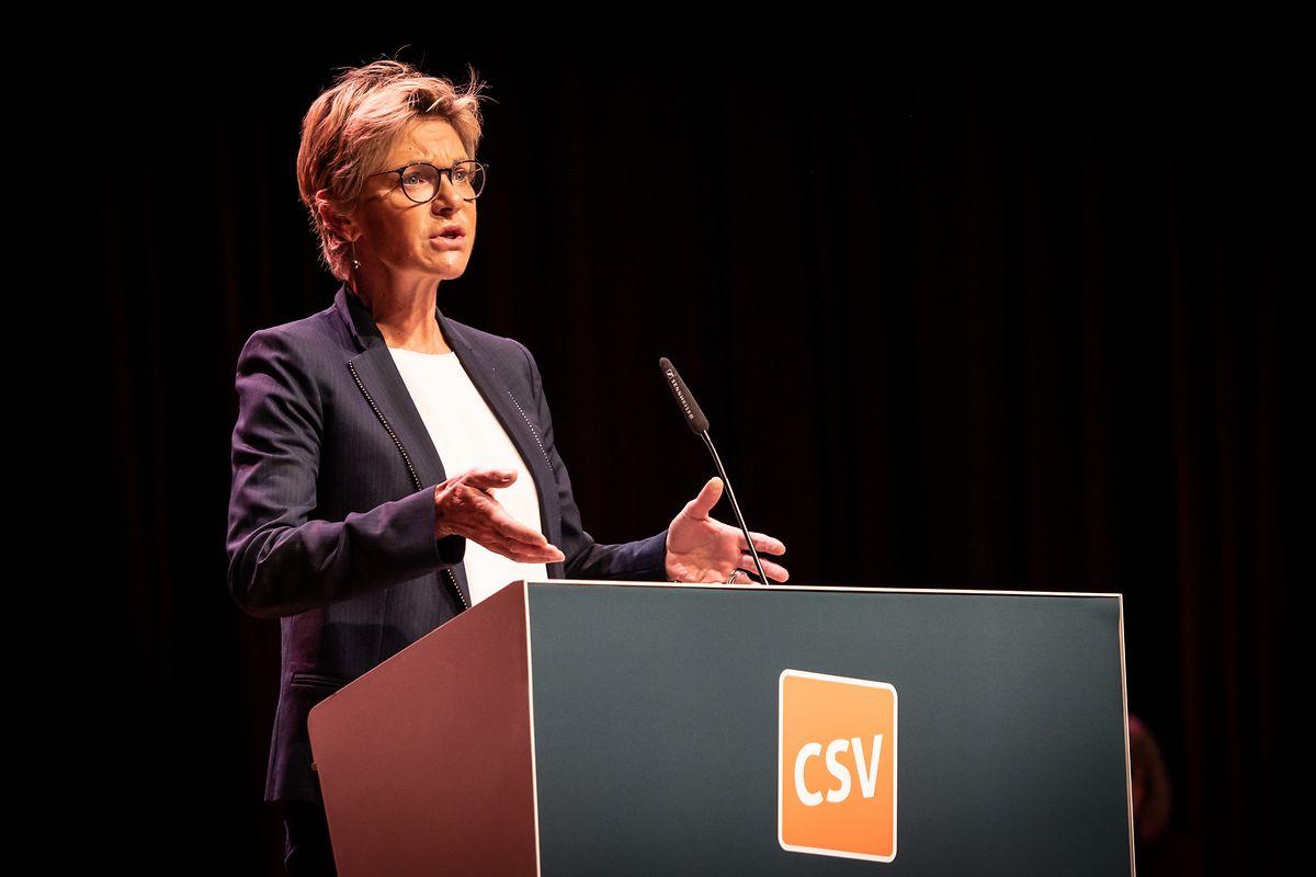 Fraktionspräsidentin Martine Hansen kritisierte die Regierung für ihre Corona-Krisenpolitik.