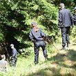 Über 50 Beamte beteiligten sich an der Suchaktion in Linger.