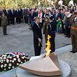 9.10. BDT / Journee Nationale de la Commemoration / Kanounenhiwel / Depot gerbe et Reanimation de la Flamme par Grand Duc Henri / Foto:Guy Jallay