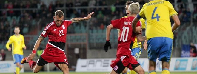 Aurélien Joachim und die Luxemburger konnten sich in der FIFA-Weltranglisten verbessern.