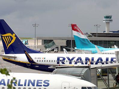 Eigentlich sollten ab dem ersten September Ryanair-Maschinen zwischen Luxemburg und Porto sowie Luxemburg und London-Stansted verkehren.
