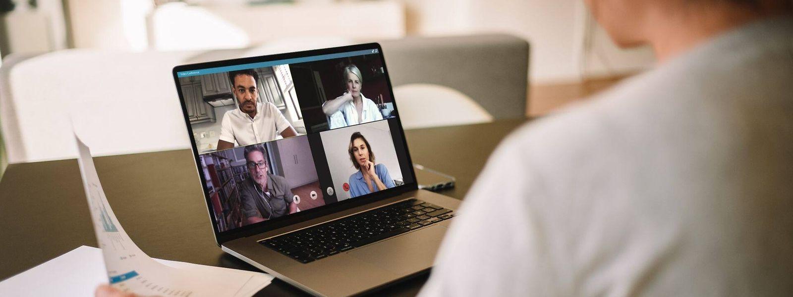 A défaut de pouvoir retrouver ses collègues, les entreprises sont de plus en plus nombreuses à proposer des «coffee breaks» virtuels.