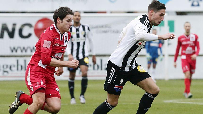 Andy May (l.) wechselt von Differdingen nach Mondorf.