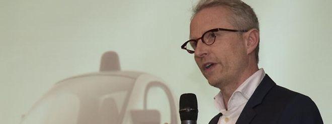 Le directeur de Google pour le Luxembourg et la Belgique, Thierry Geerts, n'a pas voulu parler du datacenter mais des emplois à venir dans la modernisation des PME