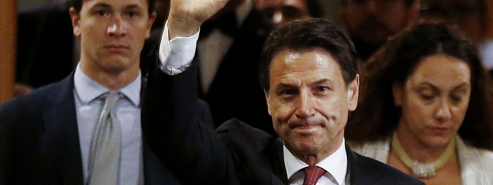 Giuseppe Conte tritt zurück, ist aber in seinem Amt gewachsen.