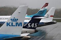 Erstflufg SAS Stockholm-Luxemburg Findel / Foto: Serge Braun