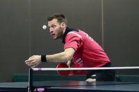 Tischtennis BDO TT League Meisterschaft 2020-21 der Maenner zwischen Lintgen und Bridel am 27.02.2021 Christian KILL (Lintgen)
