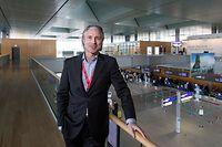 17.4. Wi / ITV René Steinhaus , Direktor Luxairport / Findel,  Aerogare Foto.Guy Jallay
