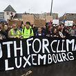 Youth for Climate luden auf Facebook zum nächsten Protest in Luxemburg-Sadt auf.