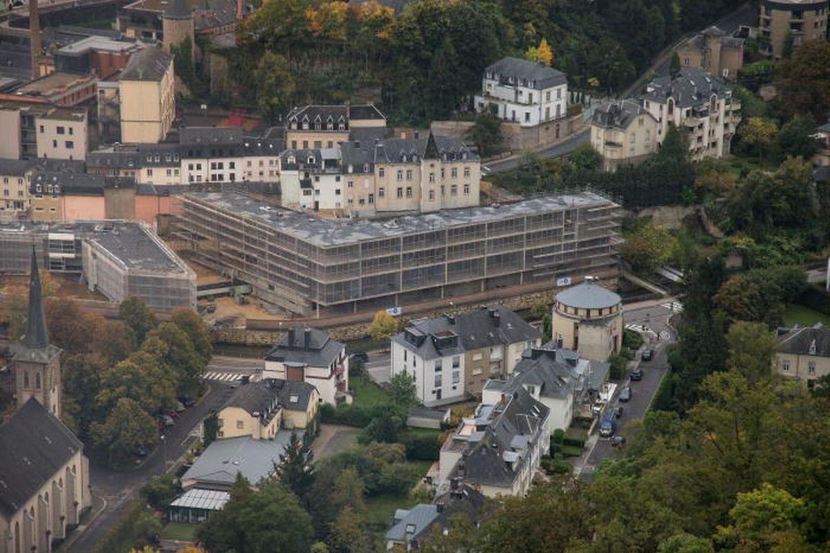 Die Kinder aus Neudorf, Clausen, Grund und Pfaffenthal sollen ab nächstem Jahr die große neue Zentralschule in Clausen besuchen.