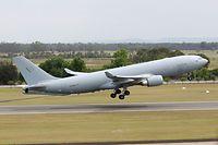 Die A330-Flugzeuge der Nato werden in Eindhoven stationiert. Hier eine A330 MRTT der australischen Luftwaffe beim Start.