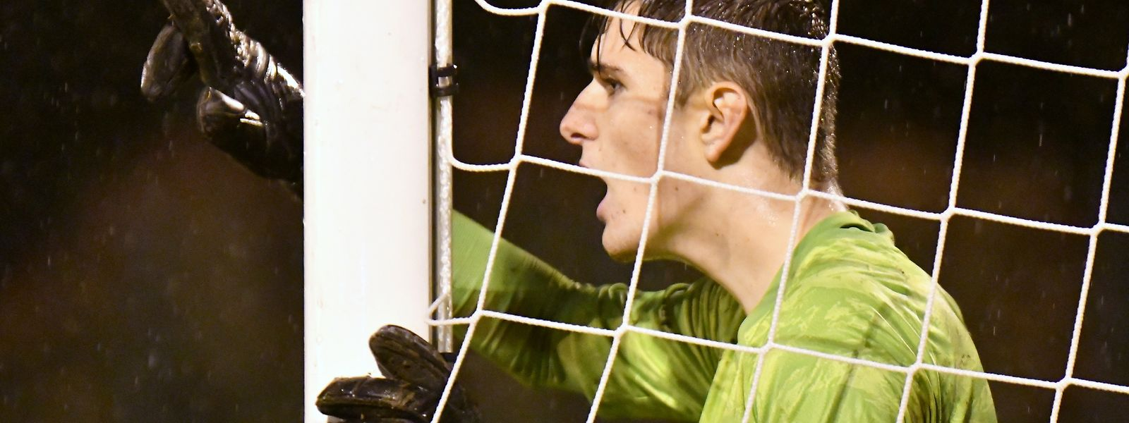 Jeunesse-Torhüter Lucas Fox wird die Unterstützung der Zuschauer fehlen.