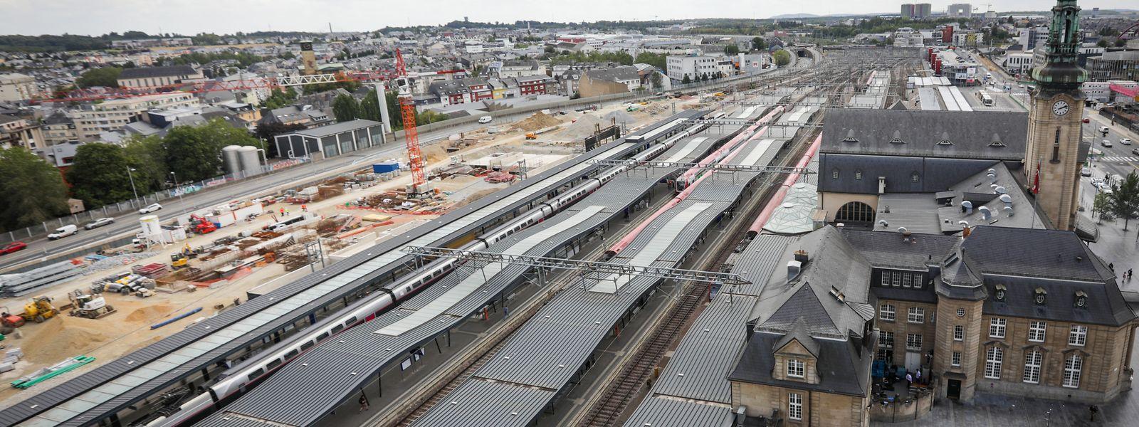 Au total, l'investissement pour la création des deux futurs quais, des souterrains et de la passerelle approchera les 171 millions d'euros.