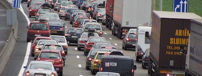 La densité du trafic sur l'A31 entre Thionville et Metz a crû de 12% depuis 2014 là où le nombre d'accidents a connu une hausse de 36%