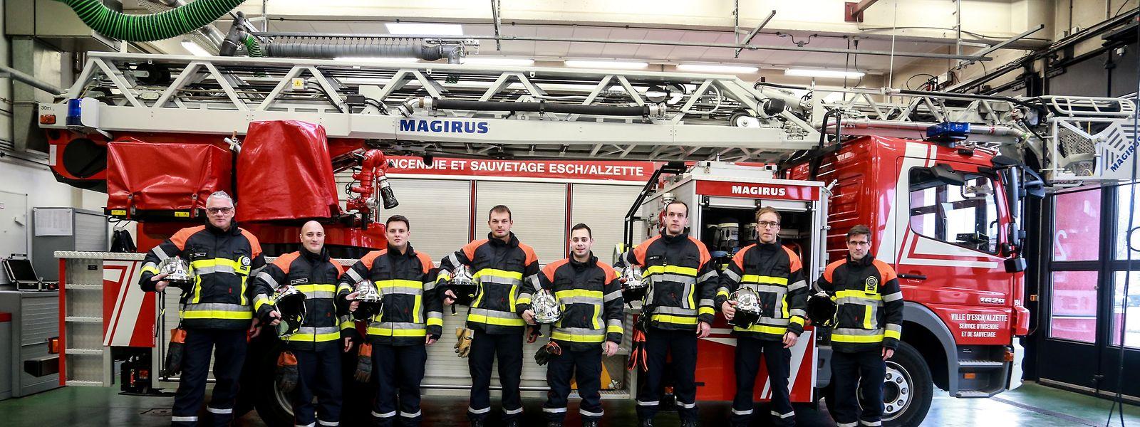 Viele Feuerwehrmänner des Escher Korps bleiben in der Silvesternacht abrufbereit.