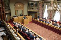 24.4. IPO / Etat de la Nation / Xavier Bettel , Chamber Foto: Guy Jallay