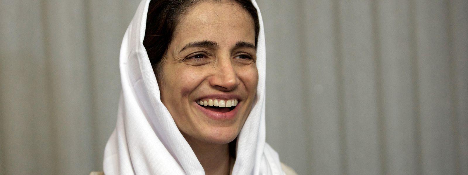 Nasrin Sotudeh, iranische Anwältin, die sich für Rechtsstaatlichkeit und die Rechte politischer Gefangener, Oppositionsaktivisten, Frauen und Kinder einsetzt.