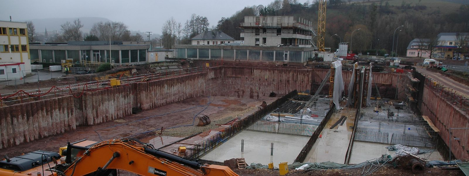 Die Modernisierungsarbeiten an der Kläranlage Bleesbrück liegen zurzeit leicht im Vorsprung gegenüber dem ursprünglichen Zeitplan.