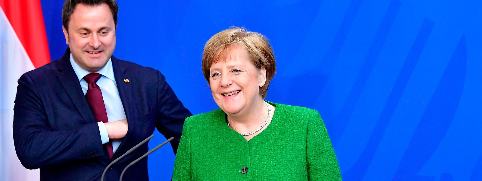 Am Montag traf Premierminister Xavier Bettel in Berlin mit Bundeskanzlerin Angela Merkel zusammen.